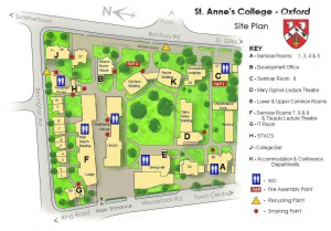 St Anne's map